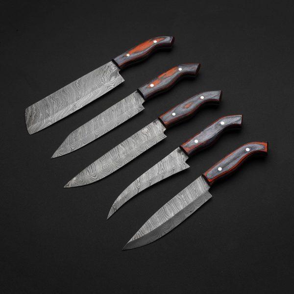 SACRED Kitchen Knife SET OF 5