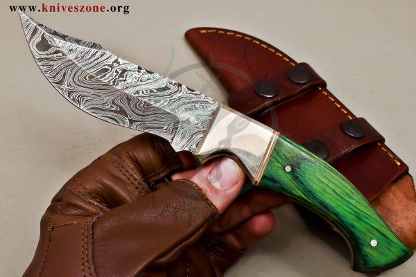 Custom Made Damascus Steel Fixed Blade Knives Maker 467