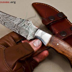 Custom Made Damascus Steel Fixed Blade Knives Maker  468