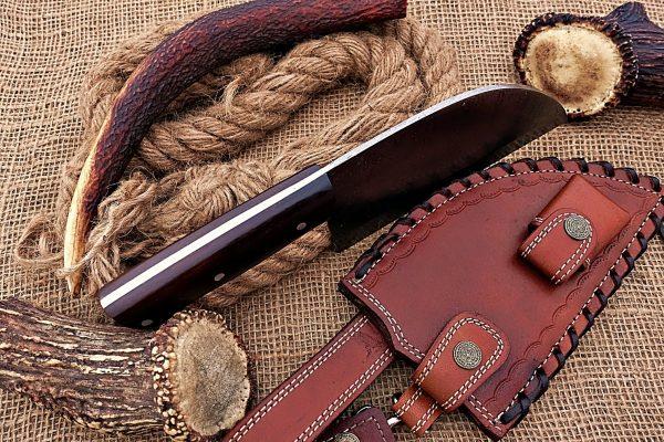 damascus cleaver knife